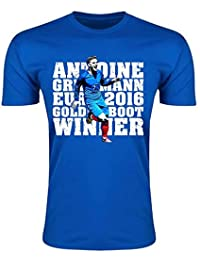 Antoine Griezmann Goldenboot France T-shirt (Blue) - Kids