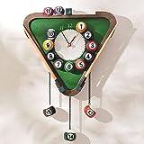 Ankamal Elec Individualität Kreativität Billard Design Kunst Uhr Modern Wanduhr Uhr Billard 1