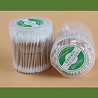 Valleycomfy bastoncillos de algodón Qtips - Doble punta con 100% algodón 400Pcs