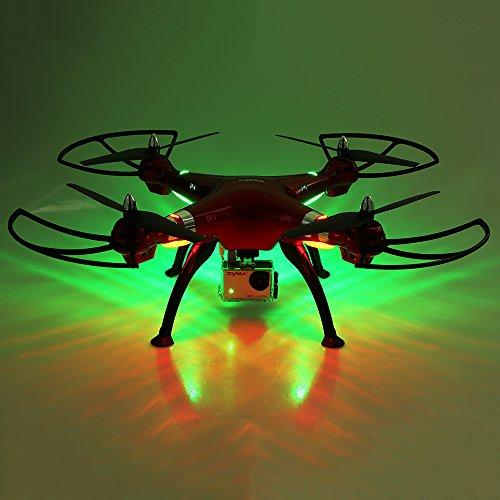 Syma X8HG mit 8.0MP HD Kamera RC Quadrocopter mit Barometer Satz Höhe und Headless Modus - 3