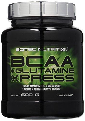 Scitec Nutrition Bcaa e Glutamine Xpress Aminoacidi Lime 600 g