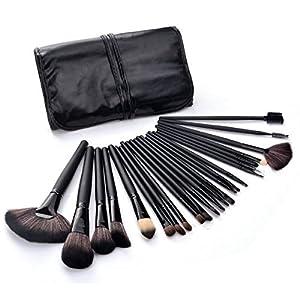 HOT PROFESIONAL !! Juego de herramientas de maquillaje de 24 piezas de escobillas, kit de maquillaje con