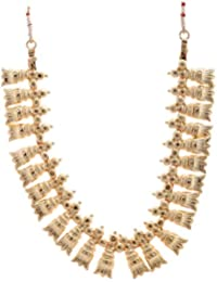 Preethi Gold Plated Gold Metal Chain Necklace For Women (Preethi_46)