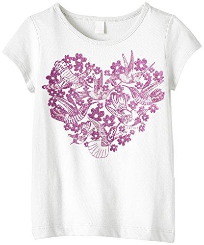 ESPRIT Baby - Mädchen T-Shirt, Gr. 104 (HerstellerGr.: 104/110), Weiß (White 100)