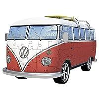 Ravensburger-12516-Volkswagen-T1-3D-Puzzle Ravensburger 3D Puzzle 12516 – Volkswagen T1 – Surfer Edition – 162 Teile -