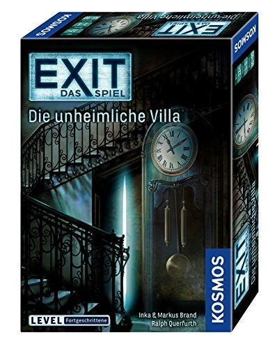 (KOSMOS Spiele 694036 - EXIT - Das Spiel - Die unheimliche Villa)