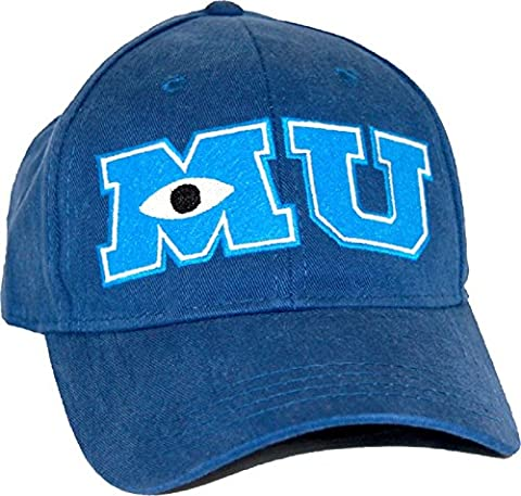 Monsters University MU Youth Adjustable Navy Hat