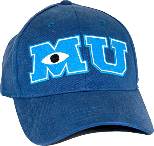 Monsters University MU Youth Adjustable Navy (University Sulley Monsters)