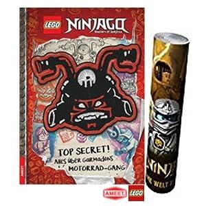 LEGO® Ninjago® - TOP Secret! Alles über Garmadons Motorrad-Gang Gebundene Ausgabe + Ninjago Poster