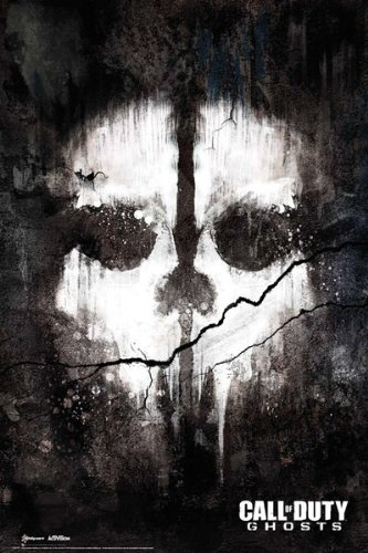 """MoviePostersDirect - Maxi poster """"Call Of Duty Ghosts Skull"""", 61x91,5cm"""