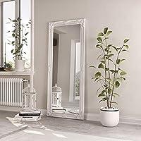 Carran Furniture Kaldors Leaner White Frame Mirror 75 x 165cm