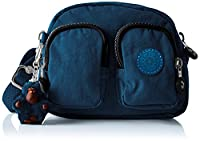 Kipling Ladies Shoulder Bag, Blue (37F Teal C), 16.5x13.5x6 cm (B X H X T)