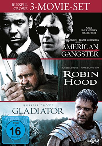 Russell Crowe - 3-Movie-Set [3 DVDs]