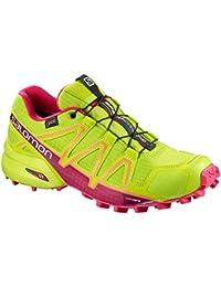 ON, Scarpe da Trail Running donna, Verde (Reseda / Rose), 36.5