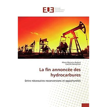 La fin annoncée des hydrocarbures