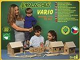 Walachia Vario Holzbausteine Holz Baukasten Modellbau Set 72 Teile
