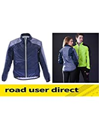Raleigh RSP Wind & Shower Proof Cycling Jacket - Blue & Grey - Small