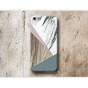 Holz Weiß Marmor Hülle Handyhülle für Samsung Galaxy S10 5G S10e S9 S8 Plus S7 S6 Edge Plus S5 S4 mini Case Cover