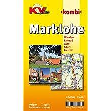 Marklohe: 1:15.000 Samtgemeindeplan mit Freizeitkarte 1:25.000 inkl. Radrouten und Wanderwege (KVplan Mittelweser-Region / http://www.kv-plan.de/Mittelweser.html)