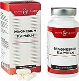 Magnesium Kapseln - Mit 7 Magnesiumvarianten - Magnesiumchlorid - Magnesiumcitrat - Magnesium-Komplex - Hochdosiert - Vegan, + Vitamin B6 (P-5-P). Perfekte Rohstoffe, Optimal Bioverfügbar