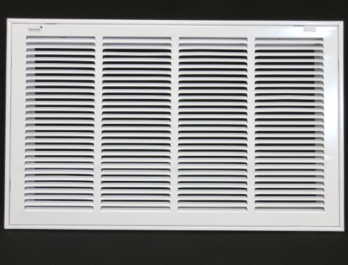 24 x 14 RETURN FILTER GRILLE - Easy Air FLow - Flat Stamped Face