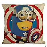 Best Furniture of America Sofa Sets - STITCHNEST- Trendy Minion Captain America Cushion Covers Review