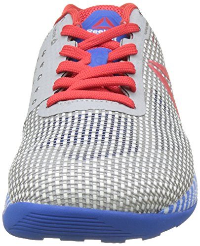 Reebok Crossfit Nano 7.0 Nation Pack, Chaussures de Fitness Homme Multicolore (White/Awesomeblue/Primal Red/Black/Skull Grey)