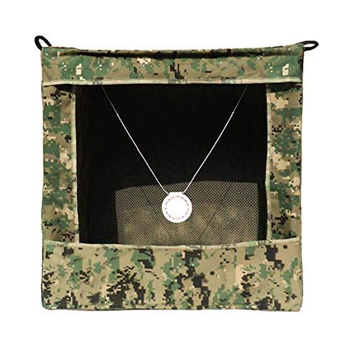 3Z Archery Faltbar Camouflage Slingshot Ziel Box Recycle Bogenschießen Aufhängen Target Tasche (40x 40x 40cm) Munition für Katapult Jagd Shooting Praxis