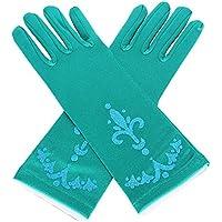 lifenewbaby Reina Princesa Magic guantes Princesa partido prom partido guantes de satén disfraz vestido de cumpleaños/regalo de Navidad para niñas 3–5años/8–10años