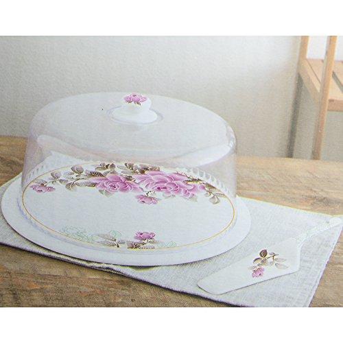 Récipient à tartes Hayat 3 pièces Boîte Hotte gâteau boîte à gâteaux Cloche à gâteau gâteaux gâteau motif 3