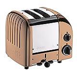 Dualit 27390 Classic New Gen Vario 2 Toaster, kupfer