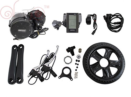 BBS02 48V 500W Bafang 8fun Mittelmotor Conversion Kits with built-in Controller