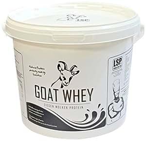 LSP Nutrition Goat Whey Protéines de Chèvre sans Arôme Ajouté 2500 gm