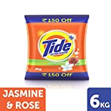 Tide Plus with Extra Power Jasmine and Rose - 6 kg (150 Rupees Off)