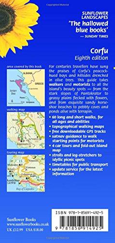 60 Long and Short Walks Corfu 4 Car Tours