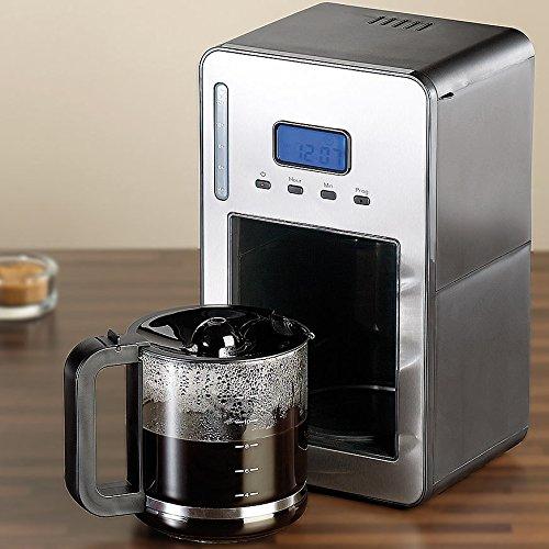 Rosenstein & Söhne Programmierbare Kaffeemaschine KF-316, 1.000 W - 2