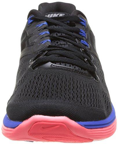 Nike Lunareclipse 4, Chaussures de running homme Multicolore (Blk/Rflct Slvr Hypr Cblt Hypr)