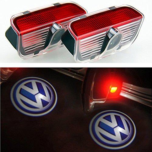 Preisvergleich Produktbild Inlink 2 X Autotür LED Einstiegsbeleuchtung Door Shadow Light Projektor Logo