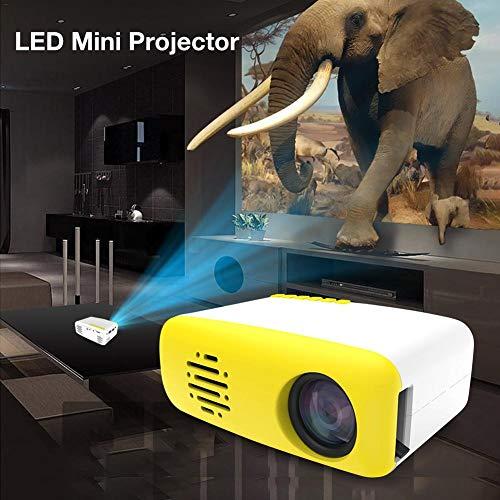 Mini proyector, LED Pico Projector Meer Portátil