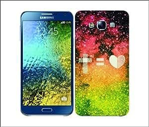 Galaxy Printed 2469 Nebula Insignia Love Hard Cover for Samsung A3