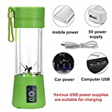 Best NEW Rechargeable Batteries - MEHAKENT New Design Portable Battery Operated Juice Blender Review