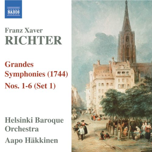 Richter, F.X.: Grandes Symphonies (1744), Nos. 1-6 (Set 1)