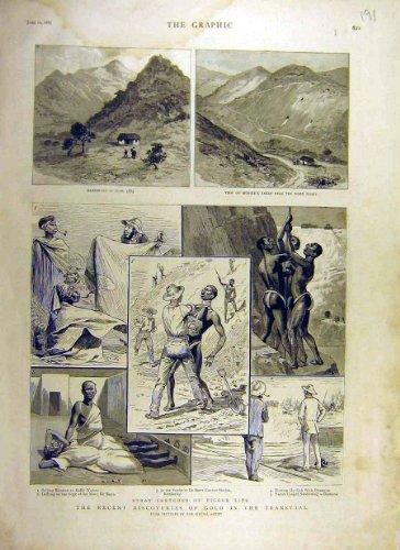 old-original-antique-victorian-print-1887-gold-transvaal-africa-digger-kaffir-de-beers-mine-91ddd0