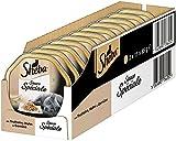 Sheba Adult Katzen-/Nassfutter, für erwachsene Katzen Sauce Spéciale,mit Truthahn, Huhn und gemüse in Sauce, 22 Schalen (22 x 85 g)