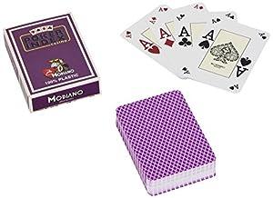 Modiano - Juego de Cartas (Poker Index) (versión en Italiano)