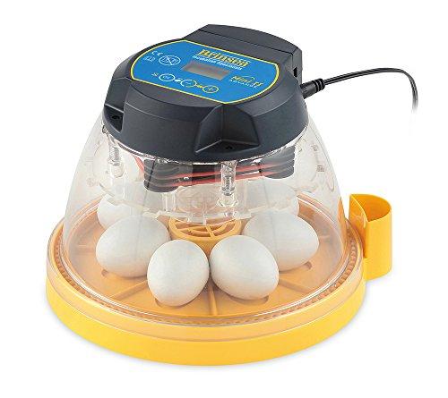 FINCA CASAREJO Incubadora 7 Huevos BRINSEA Mini II Advance. Incubadora automática, Digital con volteo automático