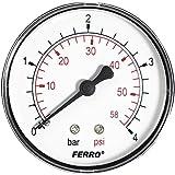 60mm 4BAR presión 60psi agua Medidor de 1/4