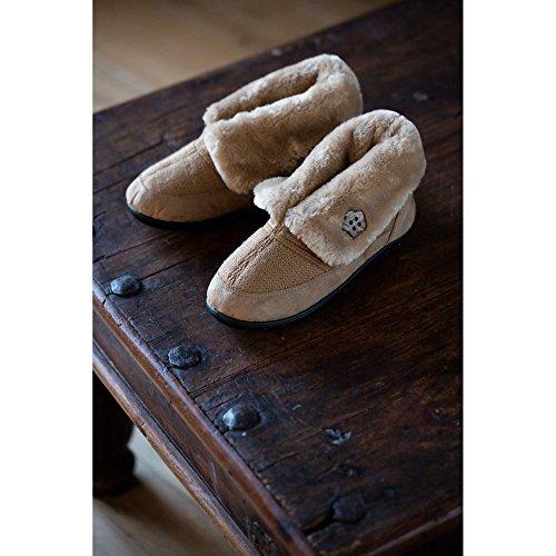 Paddonne Da Donna Eden Pantofole Alte, Multicolore, Taglia Unica Cammello