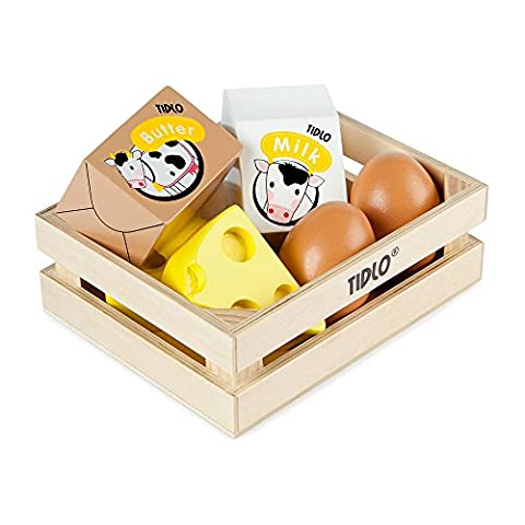 Tidlo Wooden Eggs and