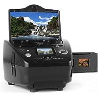 OneConcept 179 • Combo Dia-Film-Foto-Scanner • Computer-unabhängig • 9x13, 10x15 und 13x18 cm, Dia-Film, 35 mm Negativ-Film • Slideshow/Diashow-Funktion • Mini-USB-2.0-Port • SD-Slot • schwarz